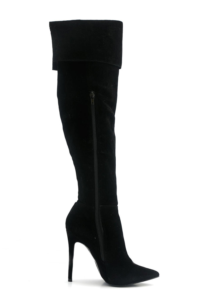 Elisah Suede Knee High Boots