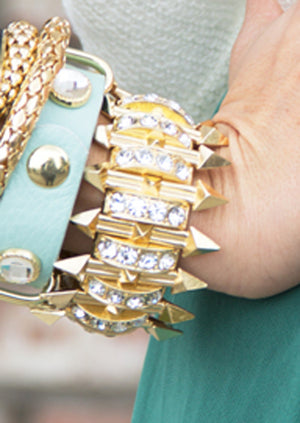 TRISHA CRYSTAL BRACELET - Editors Pick! - Haute & Rebellious