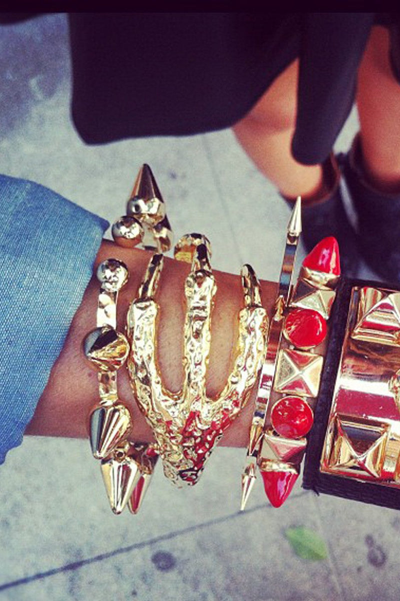 EAGLE CLAW BRACELET - Gold - Haute & Rebellious
