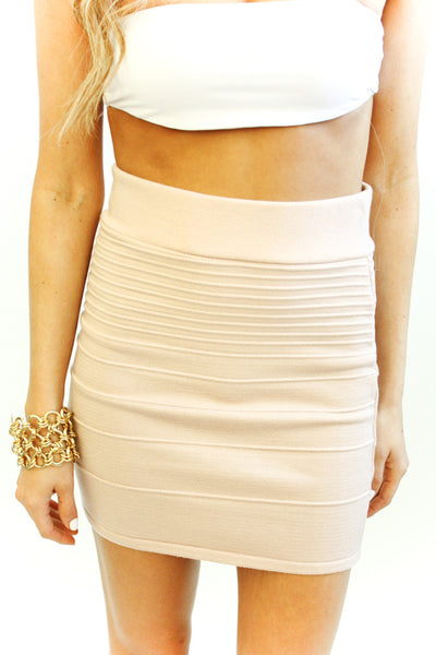 PALE ROSE SKIRT - Haute & Rebellious
