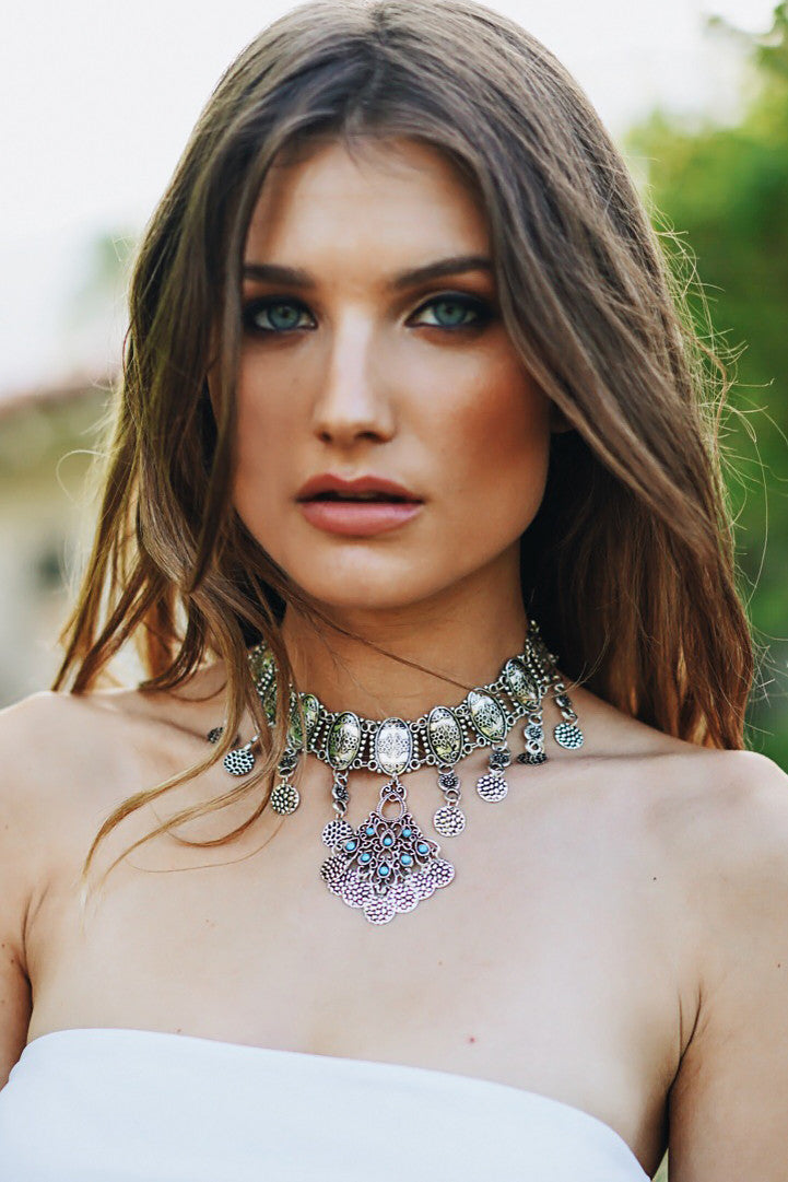 Sashana Metal Chocker - Haute & Rebellious