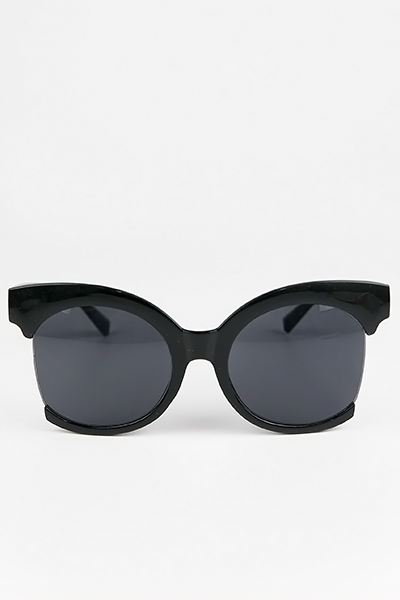 Olivia Frame Sunglasses - Black - Haute & Rebellious