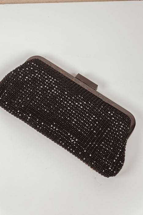 Crystal Pouch Clutch