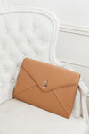 Oversize Envelope Clutch - Taupe