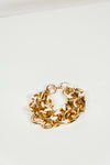 Gold Double Chain Link Bracelet