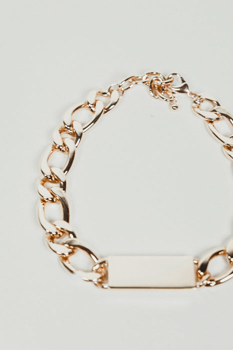Heavy Chain Link ID Necklace