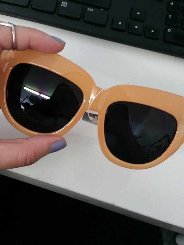BETSON HEAVY SUNGLASSES - Orange