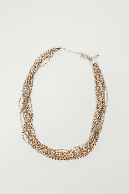 Petite Twisted Metal Chain Necklace