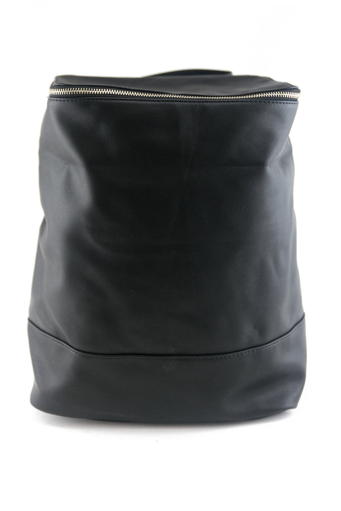 MODA TOP ZIP BACKPACK - BLACK