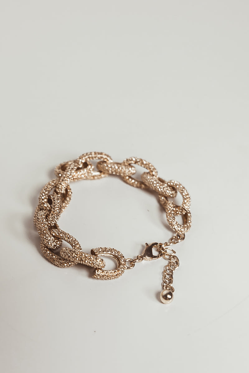 Diamond Chain Link Bracelet