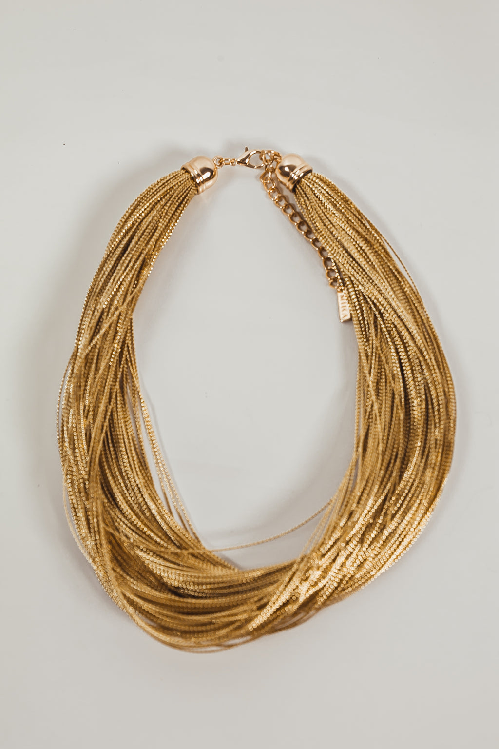 Gold Thin Rope Necklace