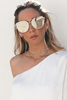 Coming After You Sunglasses - Grey Tint - Haute & Rebellious