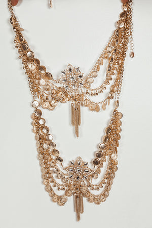 Metal Statement Body Chain
