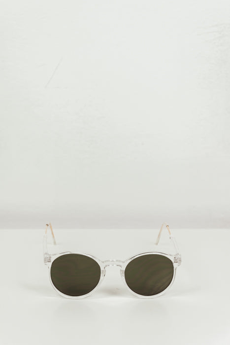 Last Night Frame Sunglasses - Clear
