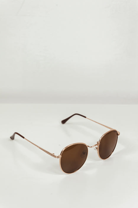 See You Sunday Sunglasses - Brown