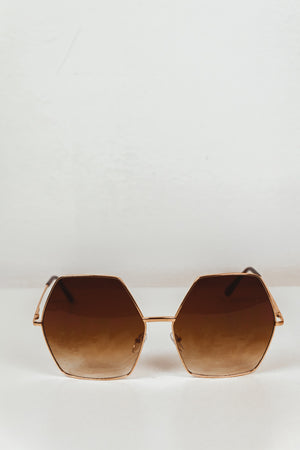 Do You Need Somebody Sunglasses - Gold