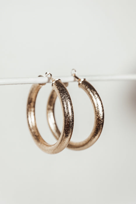 Stay Away Hoop Earrings - Haute & Rebellious