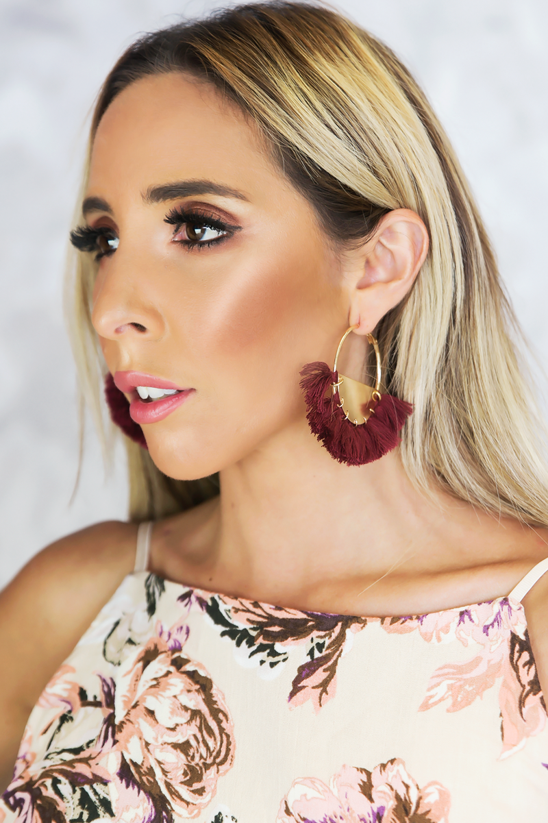 Strange Ways Fringe Earrings - Haute & Rebellious