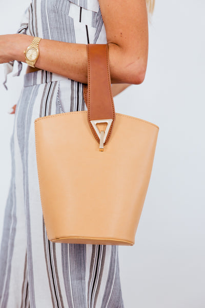 Bucket Bag - Tan