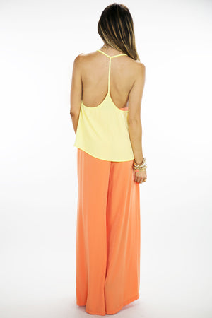 PALAZZO PANTS - Orange - Haute & Rebellious