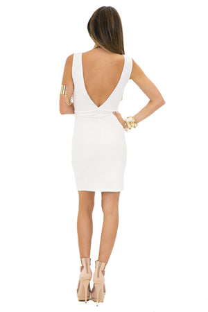 VEMA MESH CONTRAST SCUBA DRESS - Haute & Rebellious