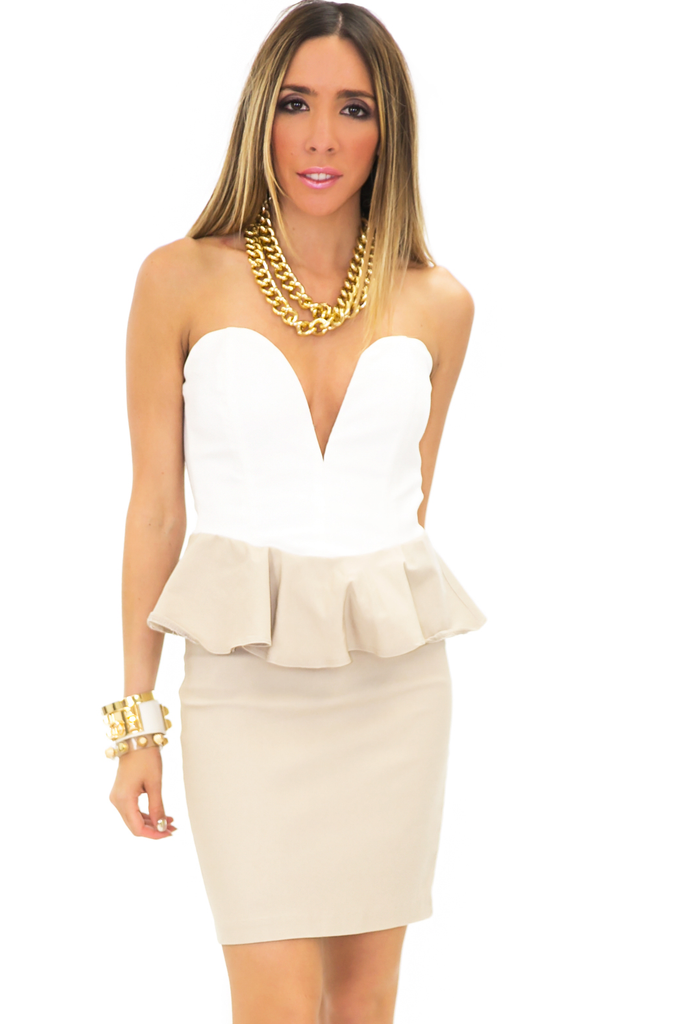 GOLD CHAIN LINK NECKLACE - Haute & Rebellious