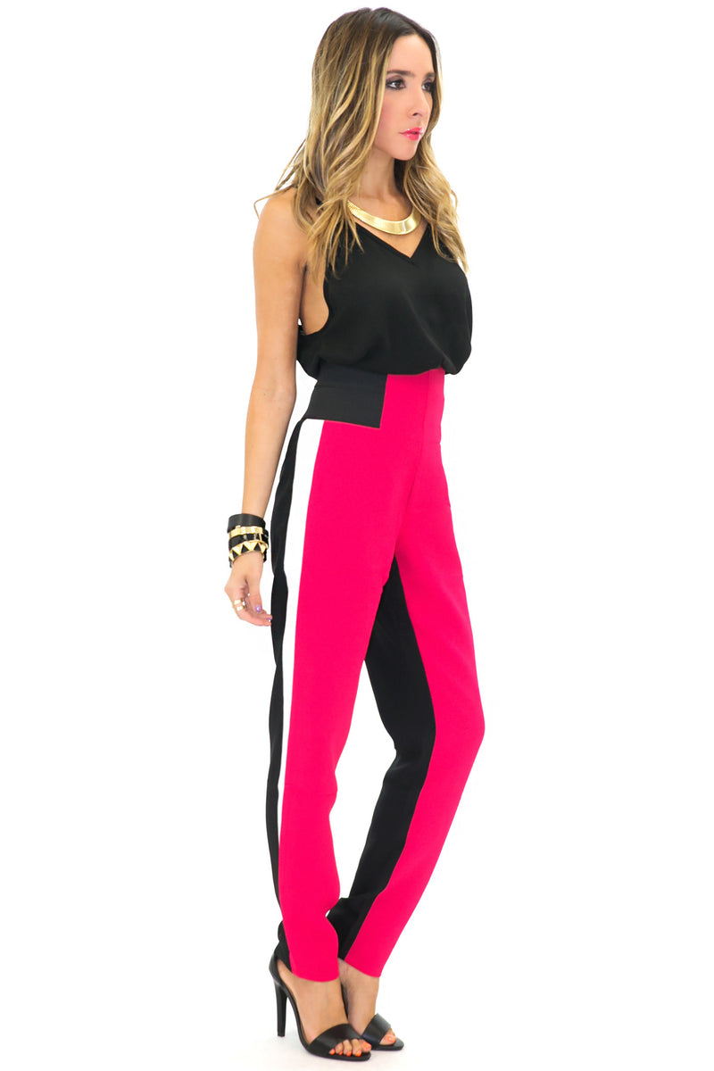 SONIA COLORBLOCK PANT - Haute & Rebellious