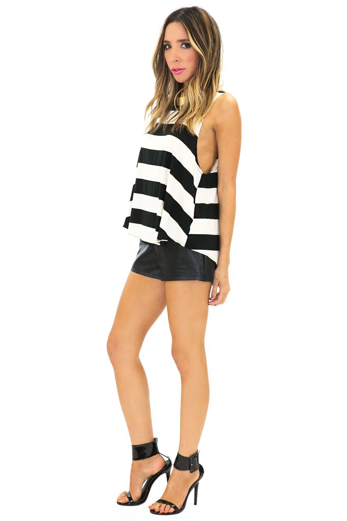 BELLA STRIPE SCOOP BOTTOM TANK