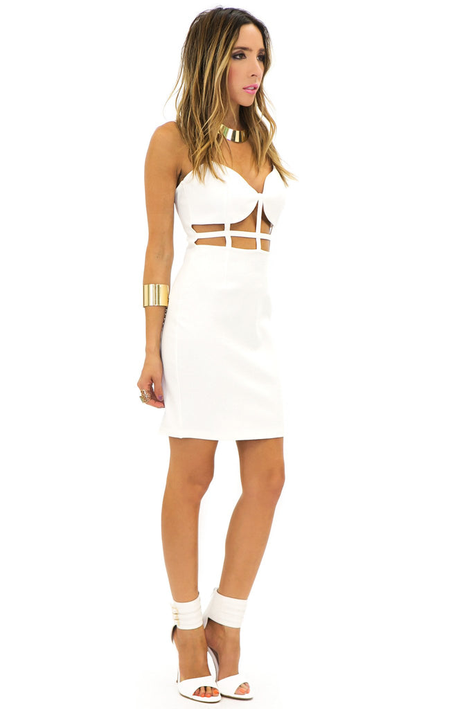 JADE CUTOUT BODYCON DRESS