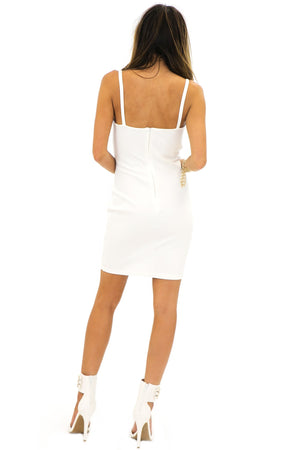 JADE CUTOUT BODYCON DRESS - Haute & Rebellious