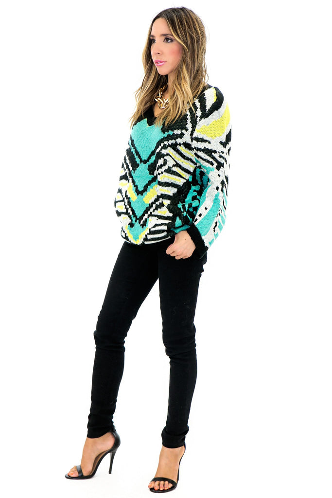 HUT TRIBAL WOOL SWEATER