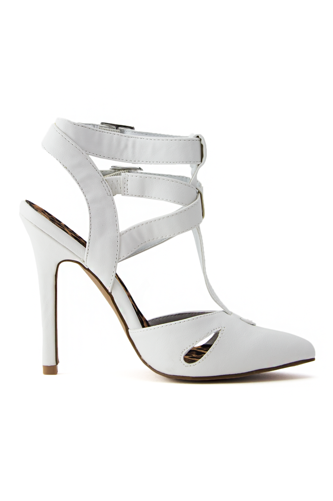 ALEXANDER MULTI STRAP PUMP - White