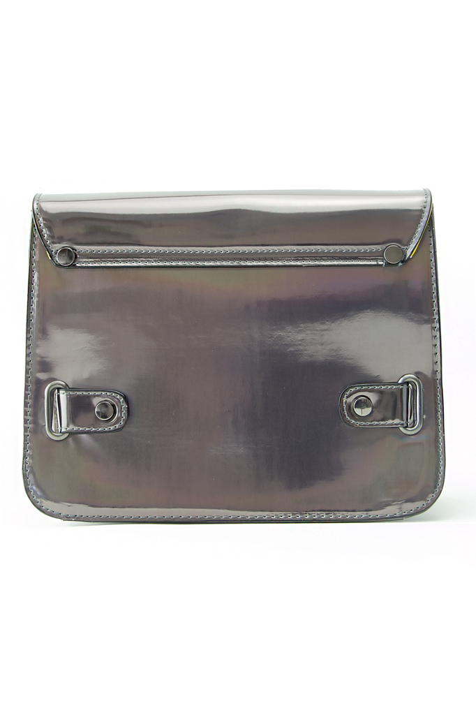 PS HOLOGRAPHIC METALLIC BAG - Heather Gray