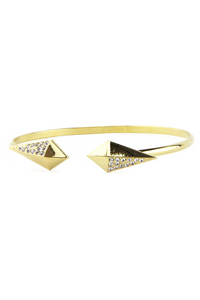 SHIELDED DIAMONDS CUFF