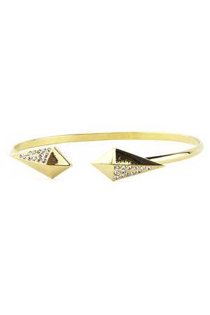 SHIELDED DIAMONDS CUFF - Haute & Rebellious
