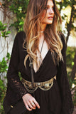 Elanah Metal Boho Belt - Gold