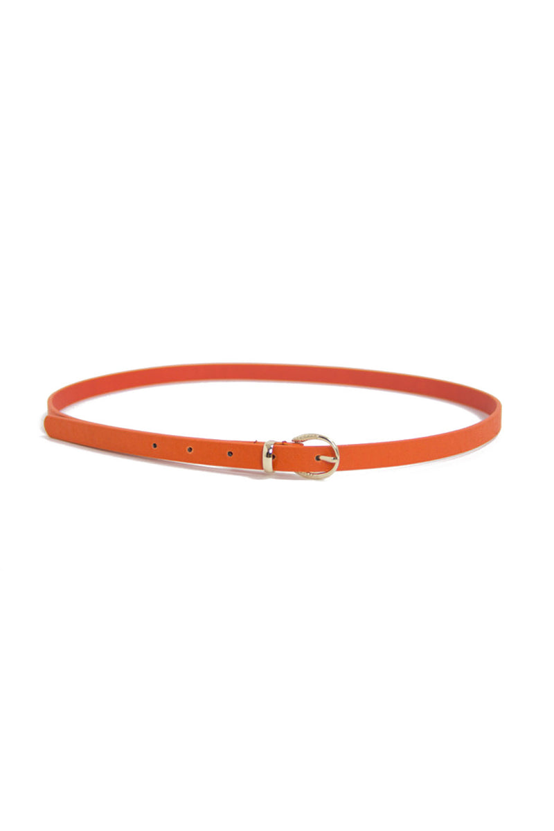 SKINNY BELT - Orange - Haute & Rebellious