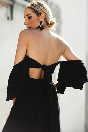 Wait Until Tomorrow Off Shoulder Crop Top - Haute & Rebellious