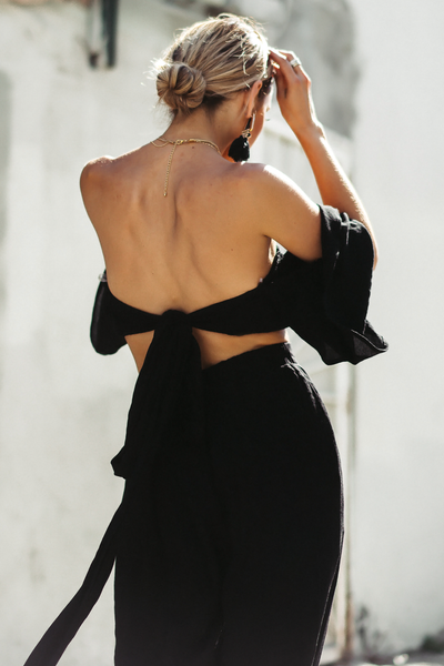 Wait Until Tomorrow Off Shoulder Crop Top