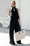 At My Best Dressy Jumpsuit - Black - Haute & Rebellious