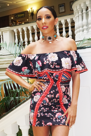 Havana Fiesta Ruffle Off-Shoulder Dress /// Only 1-S Left /// - Haute & Rebellious