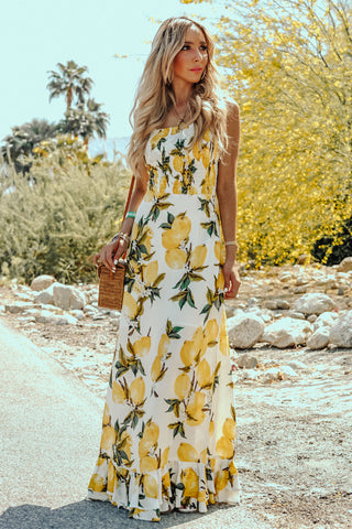 AQUAMARINE MAXI DRESS