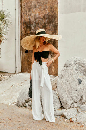 Oversize Large Brim Straw Hat