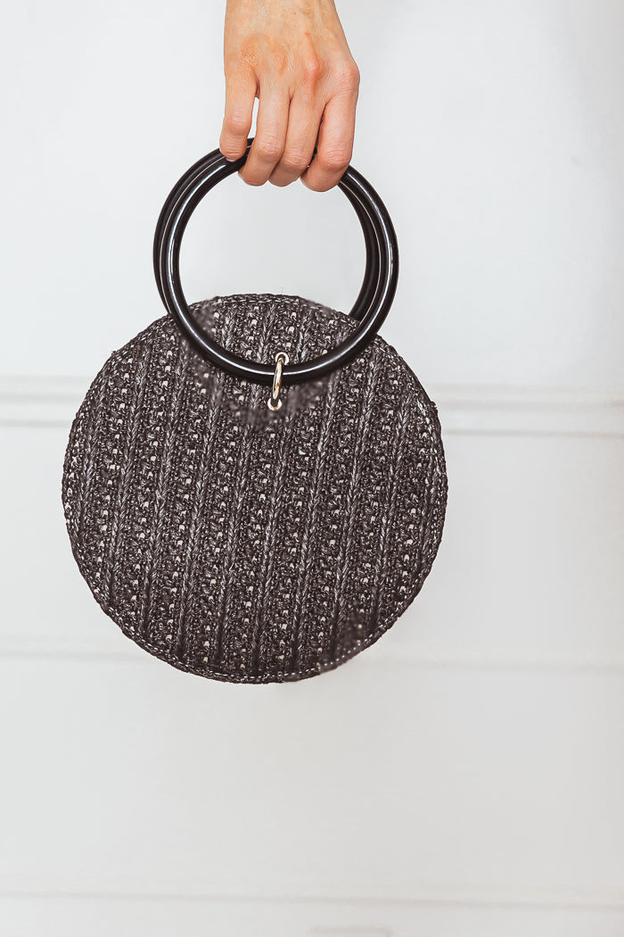 Circular Basket Bag