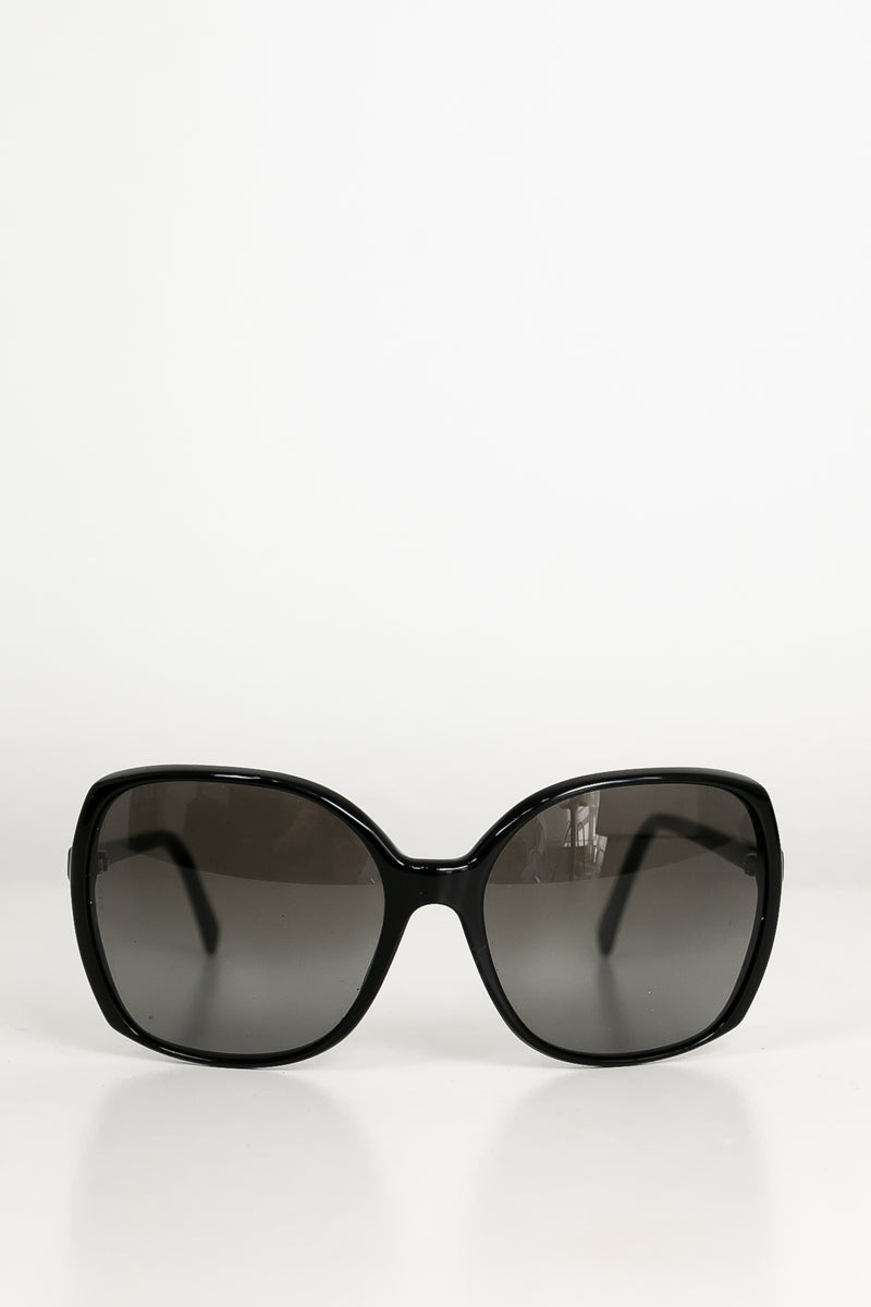 Chanel Square Signature CC Sunglasses - Black [Authentic] SOLD