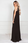 Sleeveless Pleated Maxi Dress /// Only 1-M/L Left ///