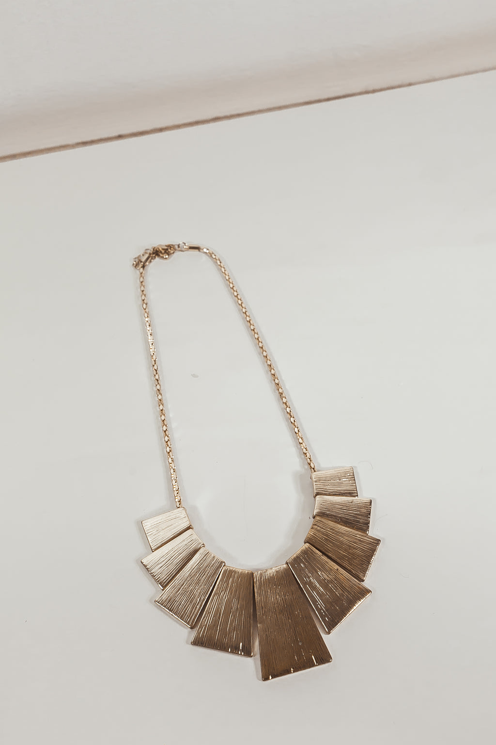 Tut Egyptian Plated Pndt Necklace