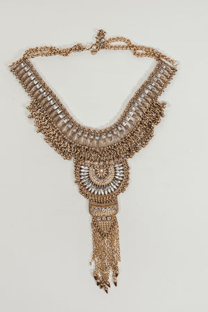 Alia Crystal Statement Necklace