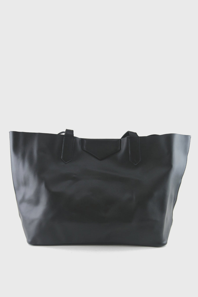 Inkot Leather Tote - Haute & Rebellious