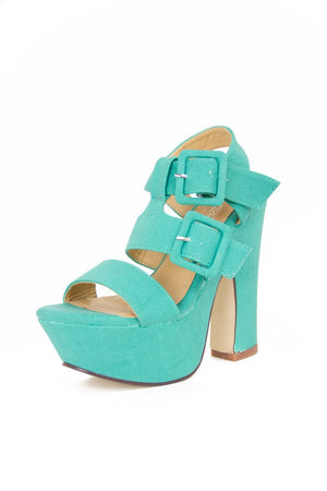 MINT STRAPY PLATFORMS - Haute & Rebellious